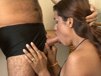 Small Tits Latina Transsexual Get's Ass Fucked